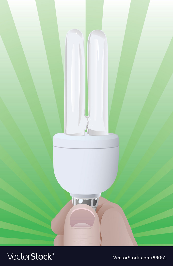 Efficient bulb vector | Price: 1 Credit (USD $1)