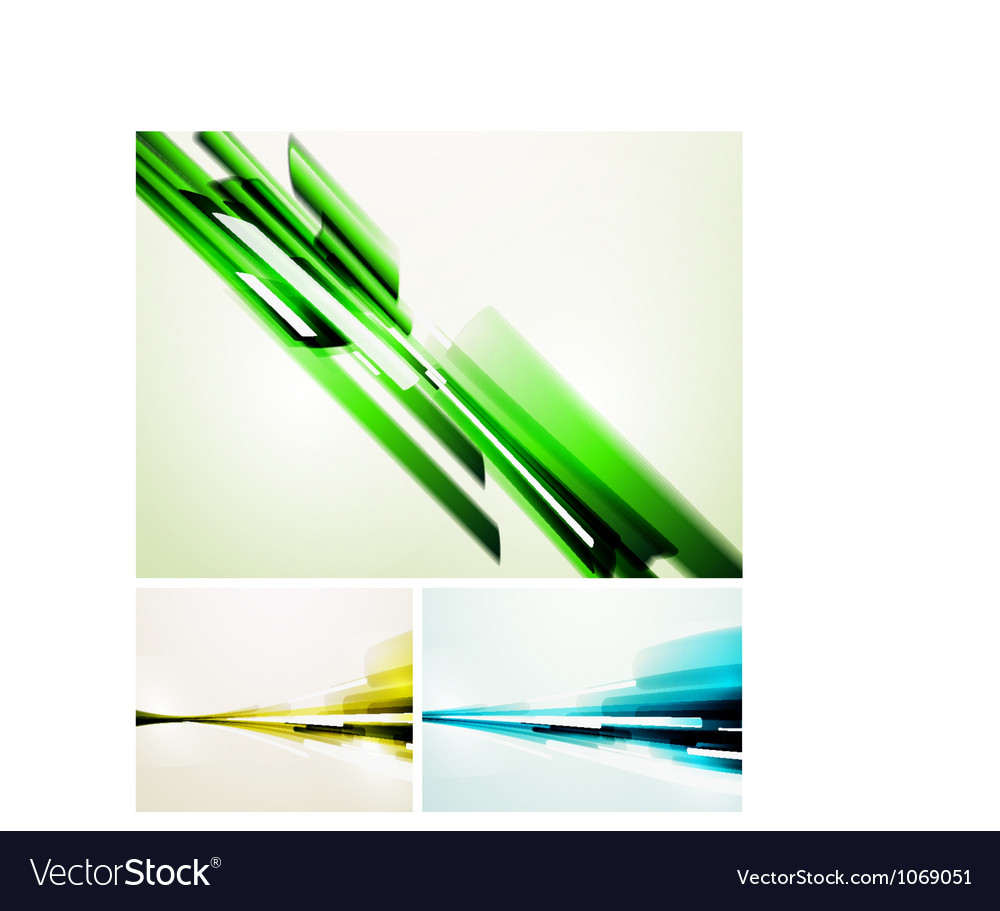 Set of straight lines abstract backgrounds vector | Price: 1 Credit (USD $1)
