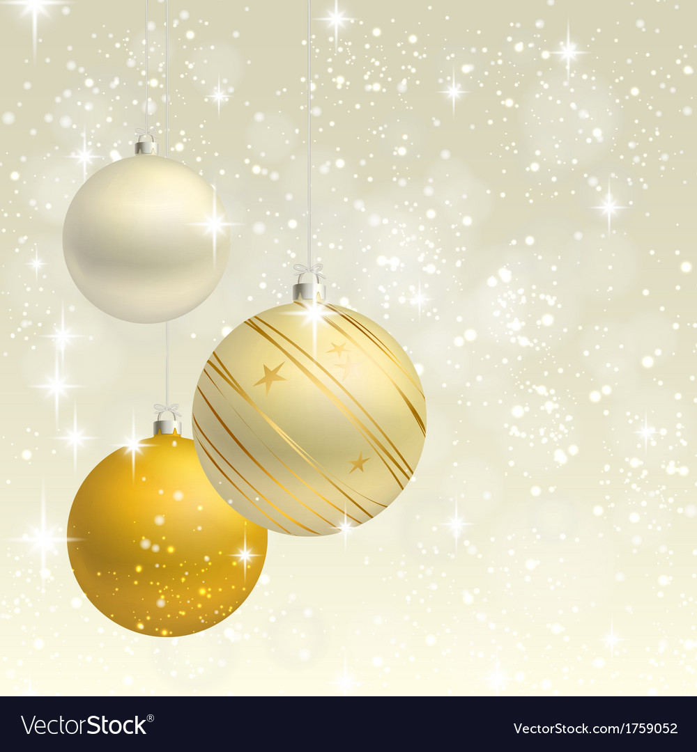 Christmas ornament background card vector | Price: 1 Credit (USD $1)