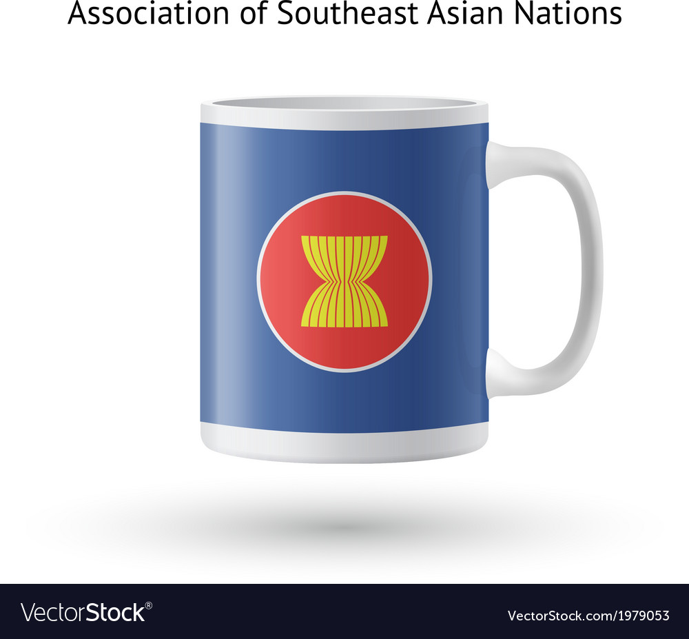 Association of southeast asian nations flag vector | Price: 1 Credit (USD $1)