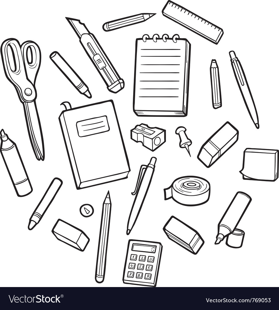 Stationary objects vector | Price: 1 Credit (USD $1)