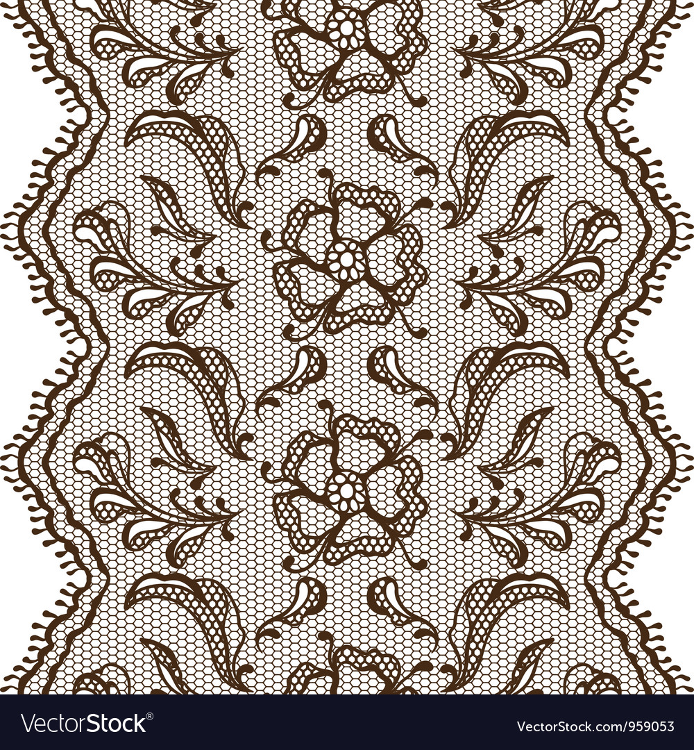 Vintage lace background ornamental flowers texture vector   Price: 1 Credit (USD $1)