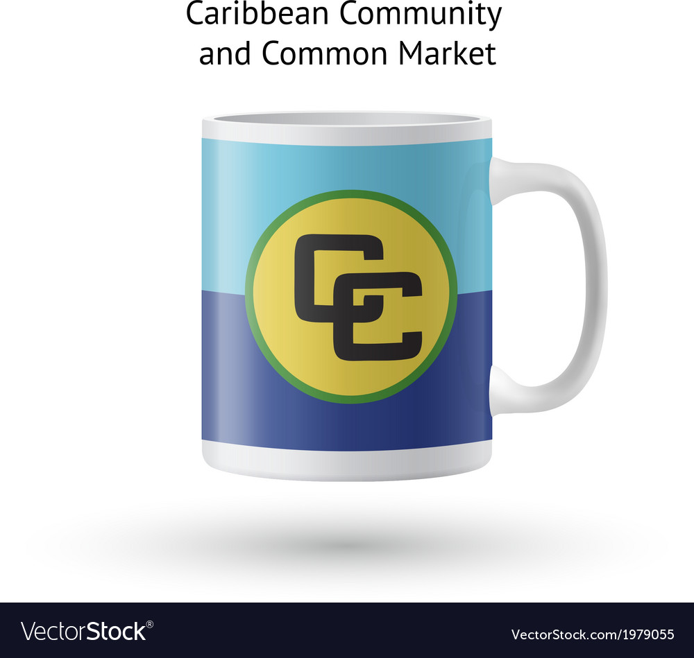Caribbean community and common market flag vector | Price: 1 Credit (USD $1)