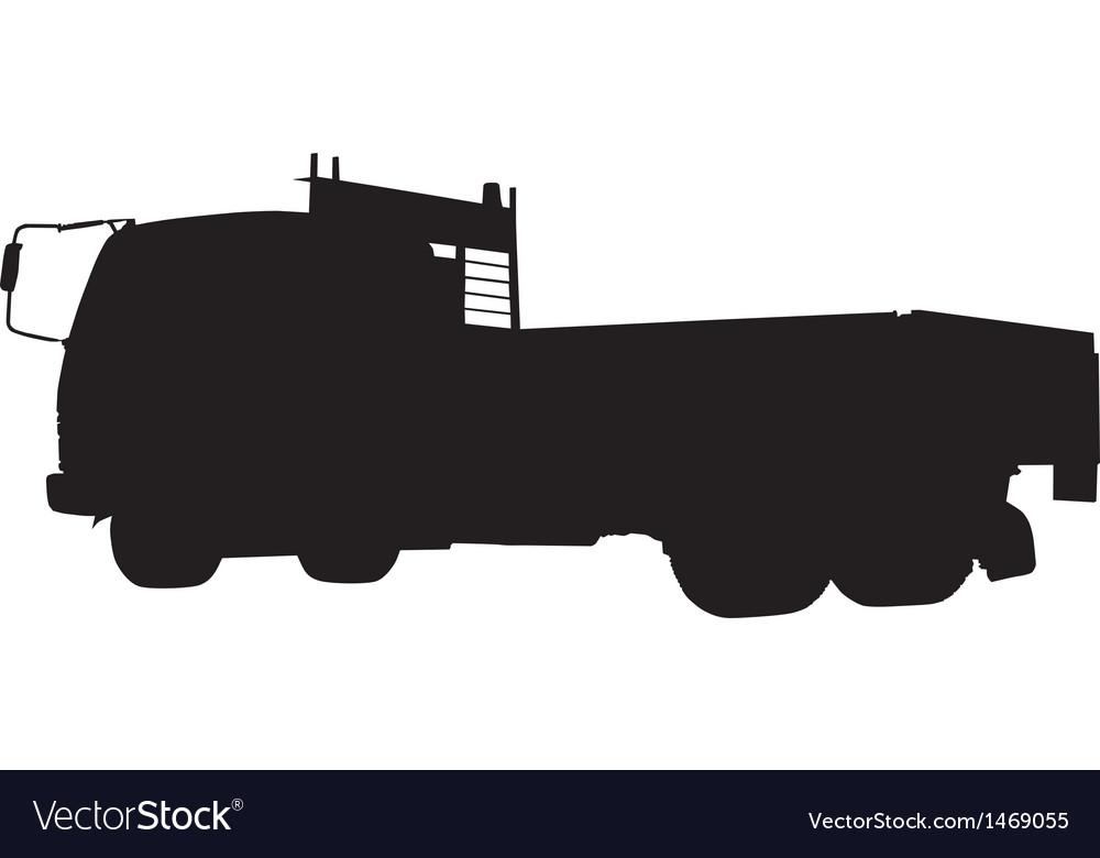 Tipper dump truck lorry vector | Price: 1 Credit (USD $1)