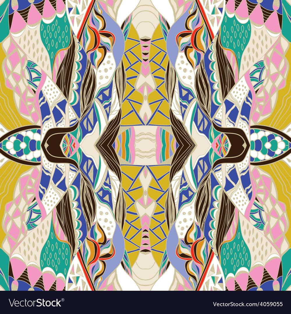 Traditional ornamental paisley bandanna vector | Price: 1 Credit (USD $1)