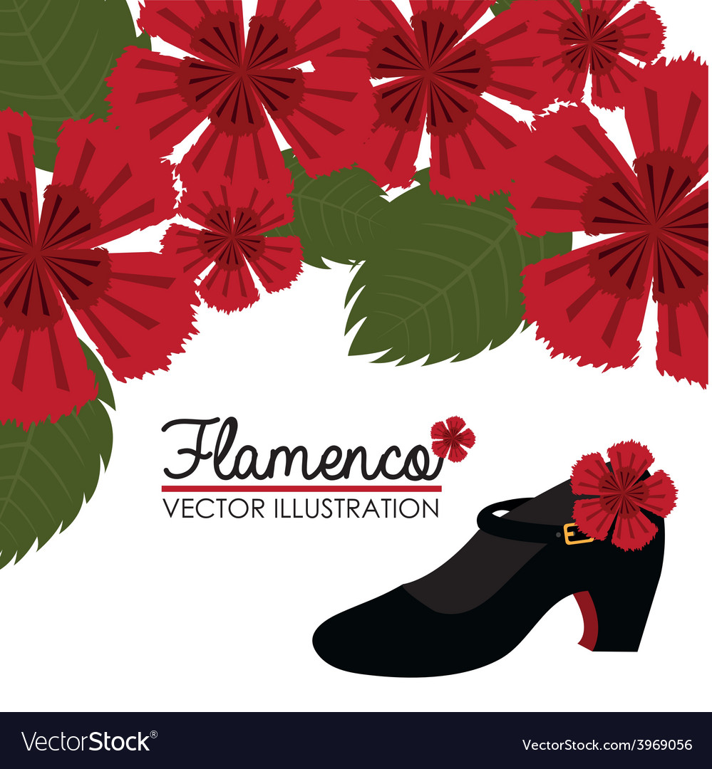 Flamenco design vector | Price: 1 Credit (USD $1)