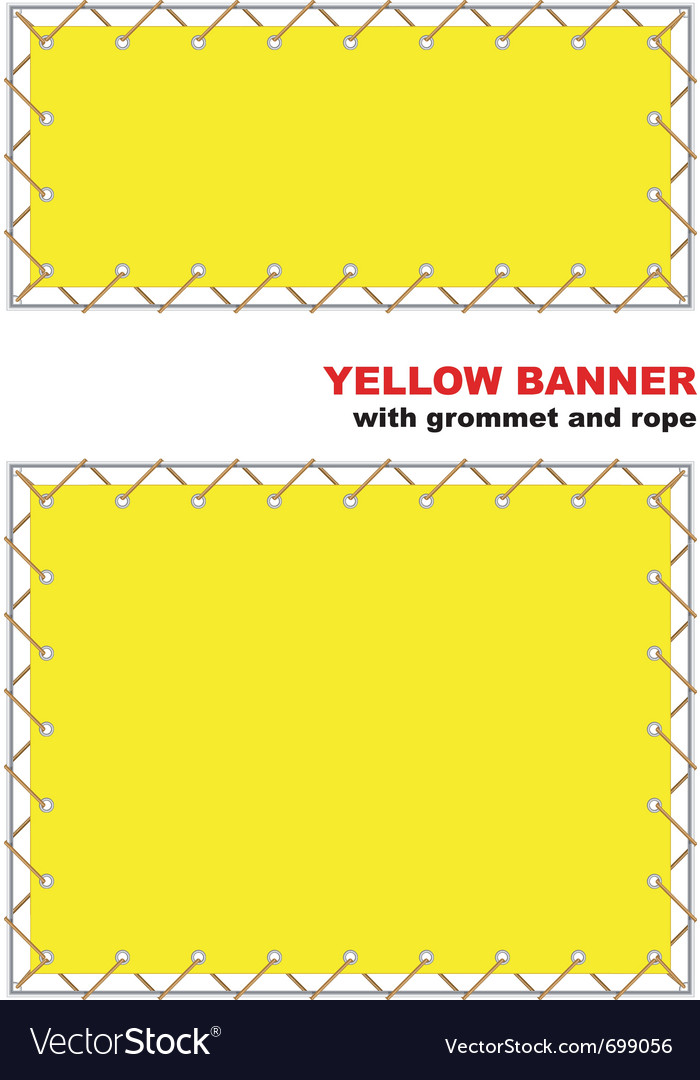 Grommet and rope vector | Price: 1 Credit (USD $1)