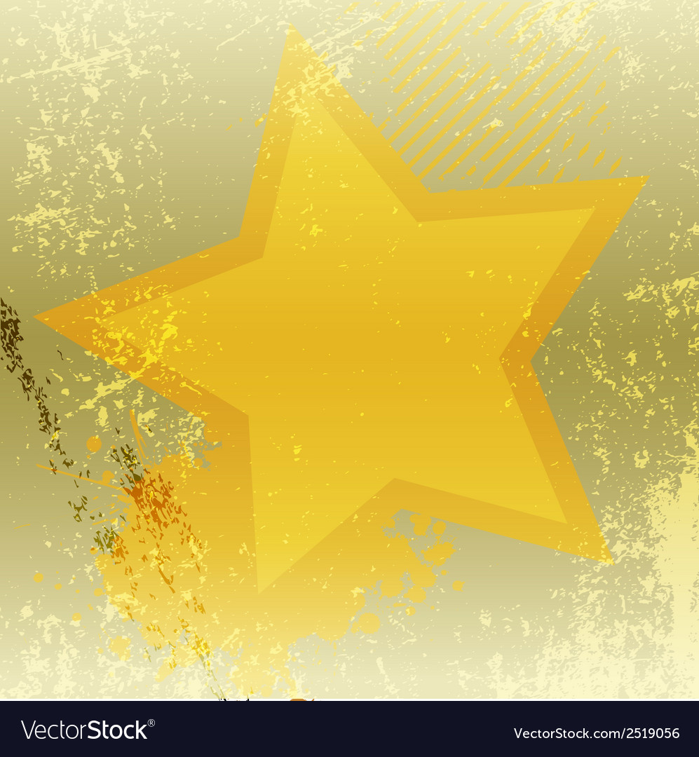 Grunge star abstract background vector | Price: 1 Credit (USD $1)