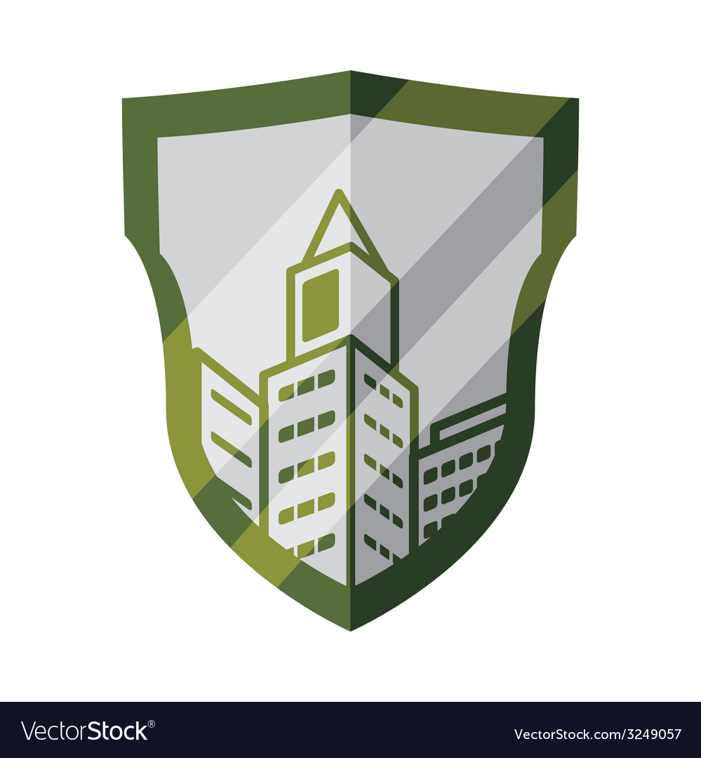Buildings design vector | Price: 1 Credit (USD $1)