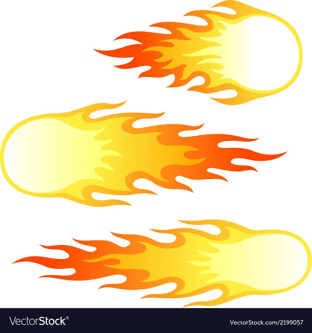 Firebals vector | Price: 1 Credit (USD $1)