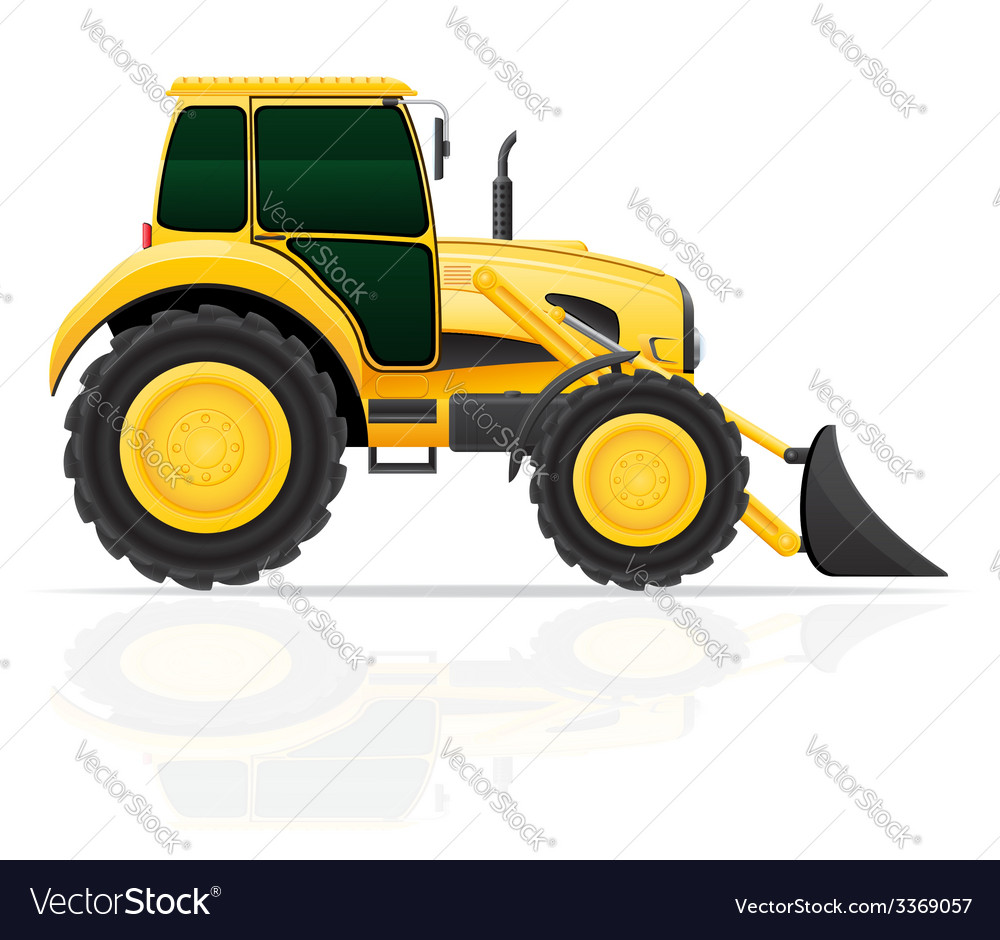 Tractor 02 vector | Price: 3 Credit (USD $3)