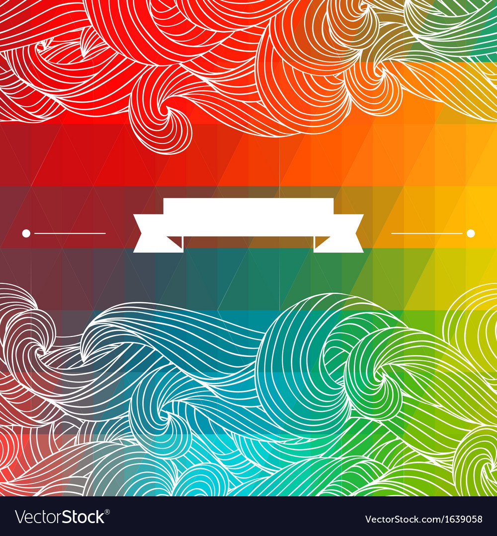 Card abstract geometric background vector | Price: 1 Credit (USD $1)