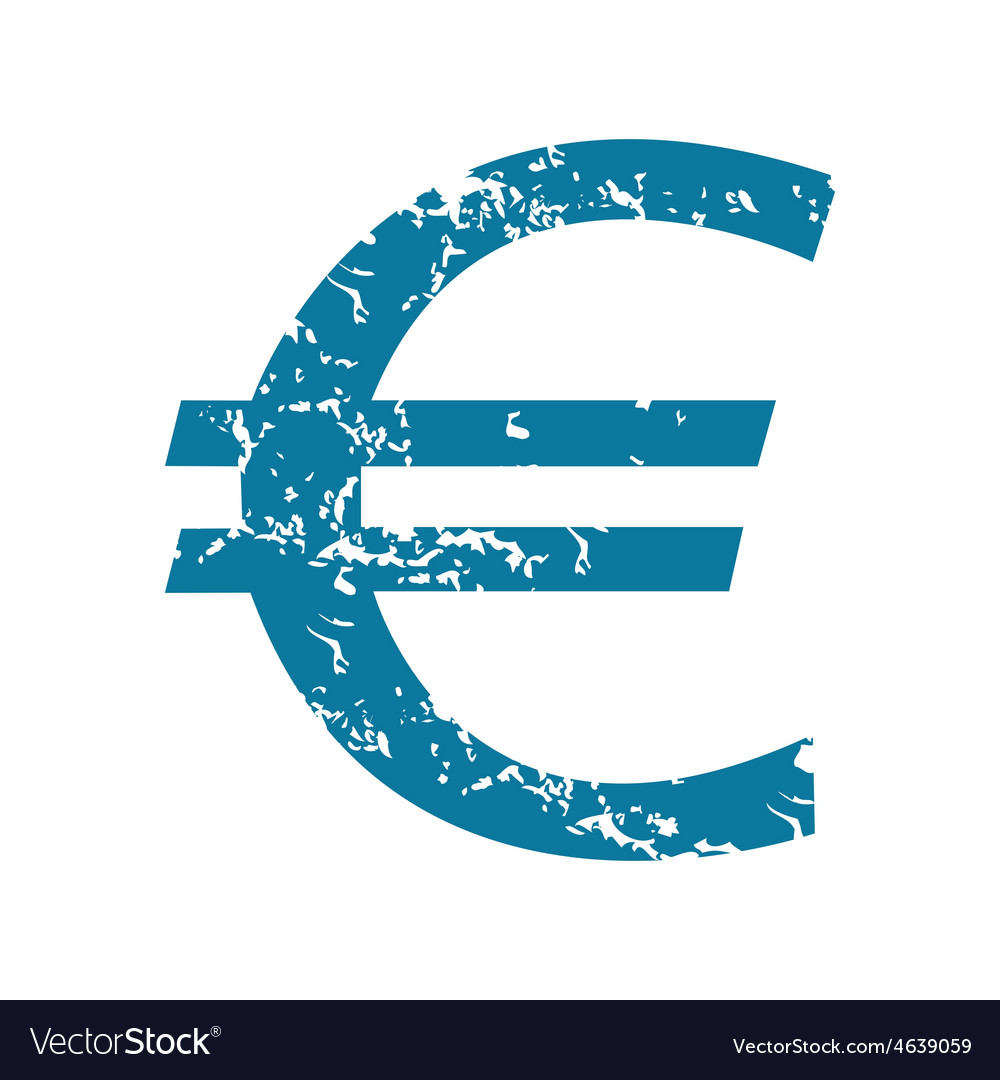 Euro symbol icon vector | Price: 1 Credit (USD $1)