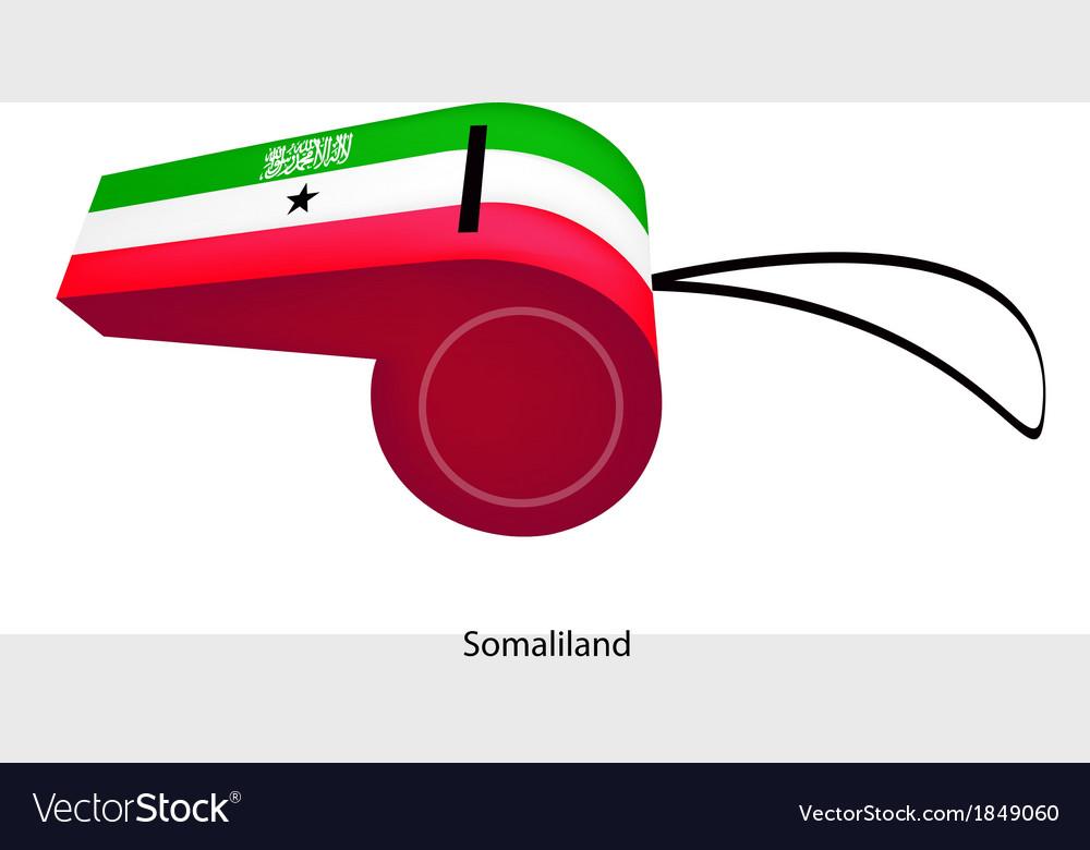 A whistle of kingdom of saudi arabia vector | Price: 1 Credit (USD $1)