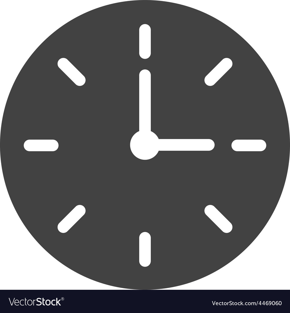 Clock time vector | Price: 1 Credit (USD $1)