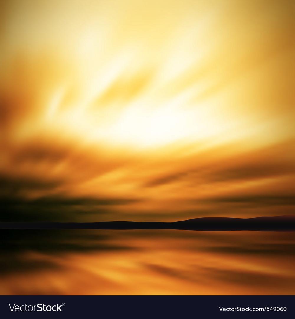 Dramatic sky blur vector | Price: 1 Credit (USD $1)