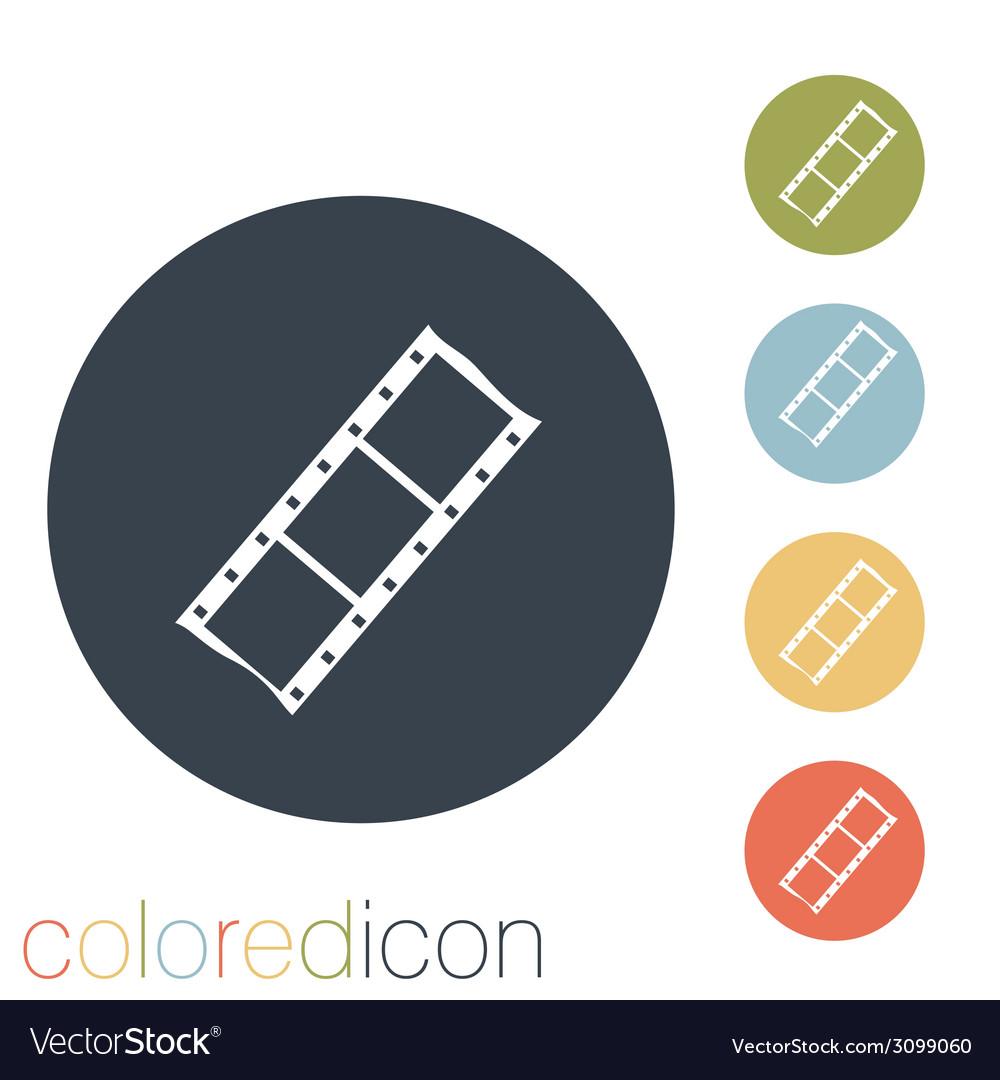 Film sign vector   Price: 1 Credit (USD $1)