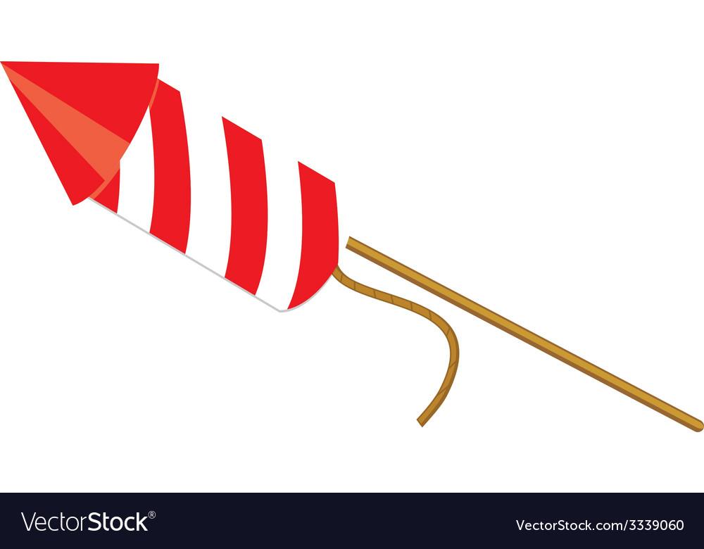 Red petard vector | Price: 1 Credit (USD $1)