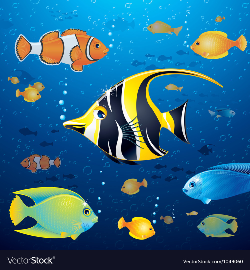 Underwater life vector | Price: 3 Credit (USD $3)
