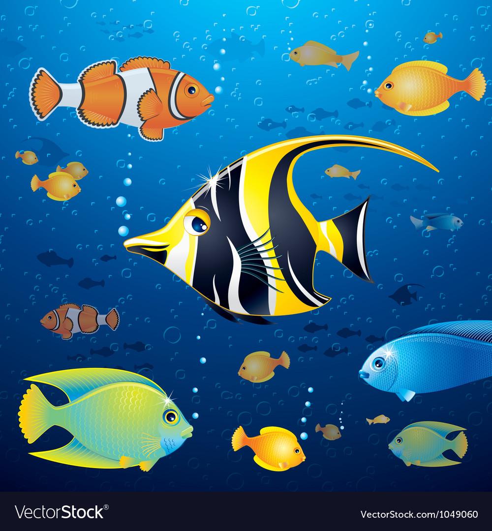 Underwater life vector | Price: 3 Credit (USD $3)
