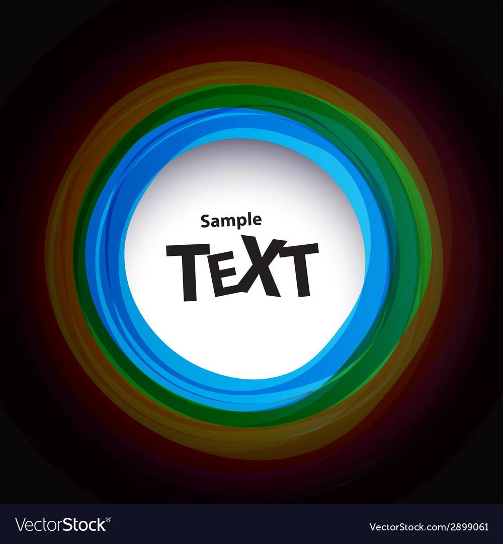 Colour speech bubbles vector | Price: 1 Credit (USD $1)