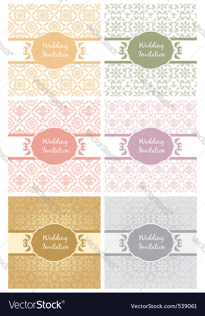 Decorative pattern and frame template second set vector | Price: 1 Credit (USD $1)