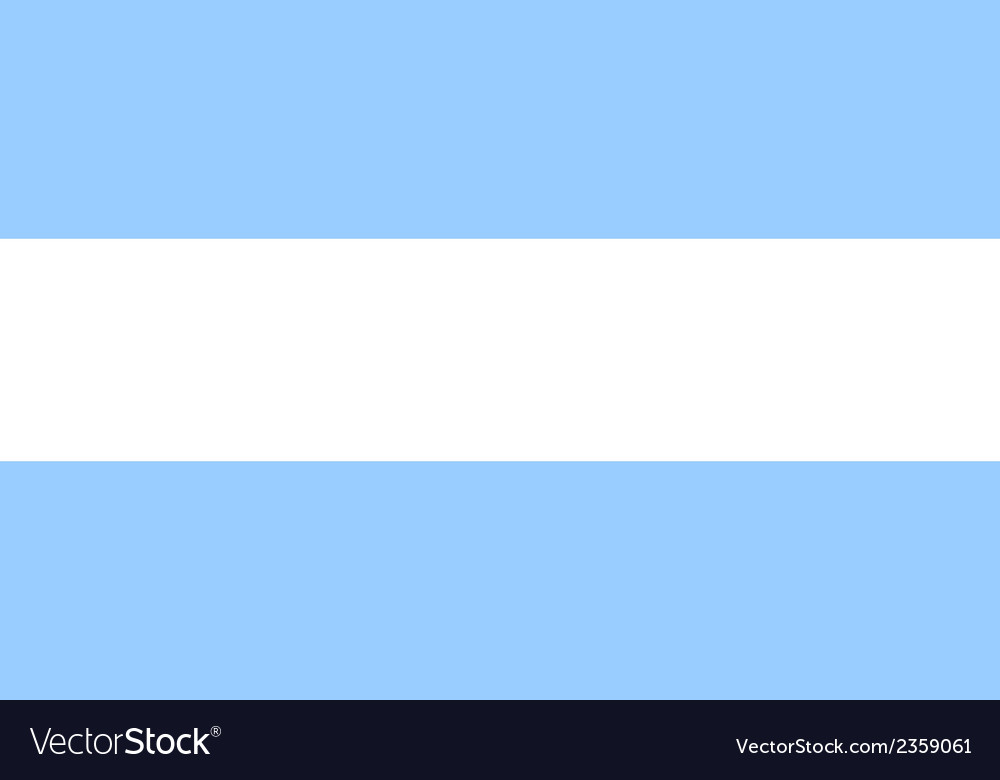 Flag of argentina vector | Price: 1 Credit (USD $1)