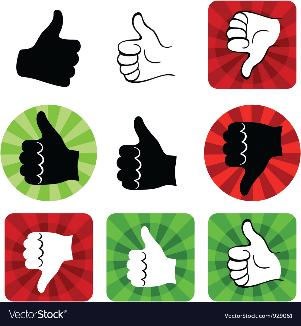 Hand set vector | Price: 1 Credit (USD $1)