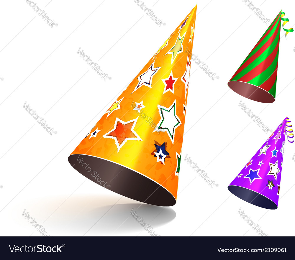 Hat party small vector | Price: 1 Credit (USD $1)