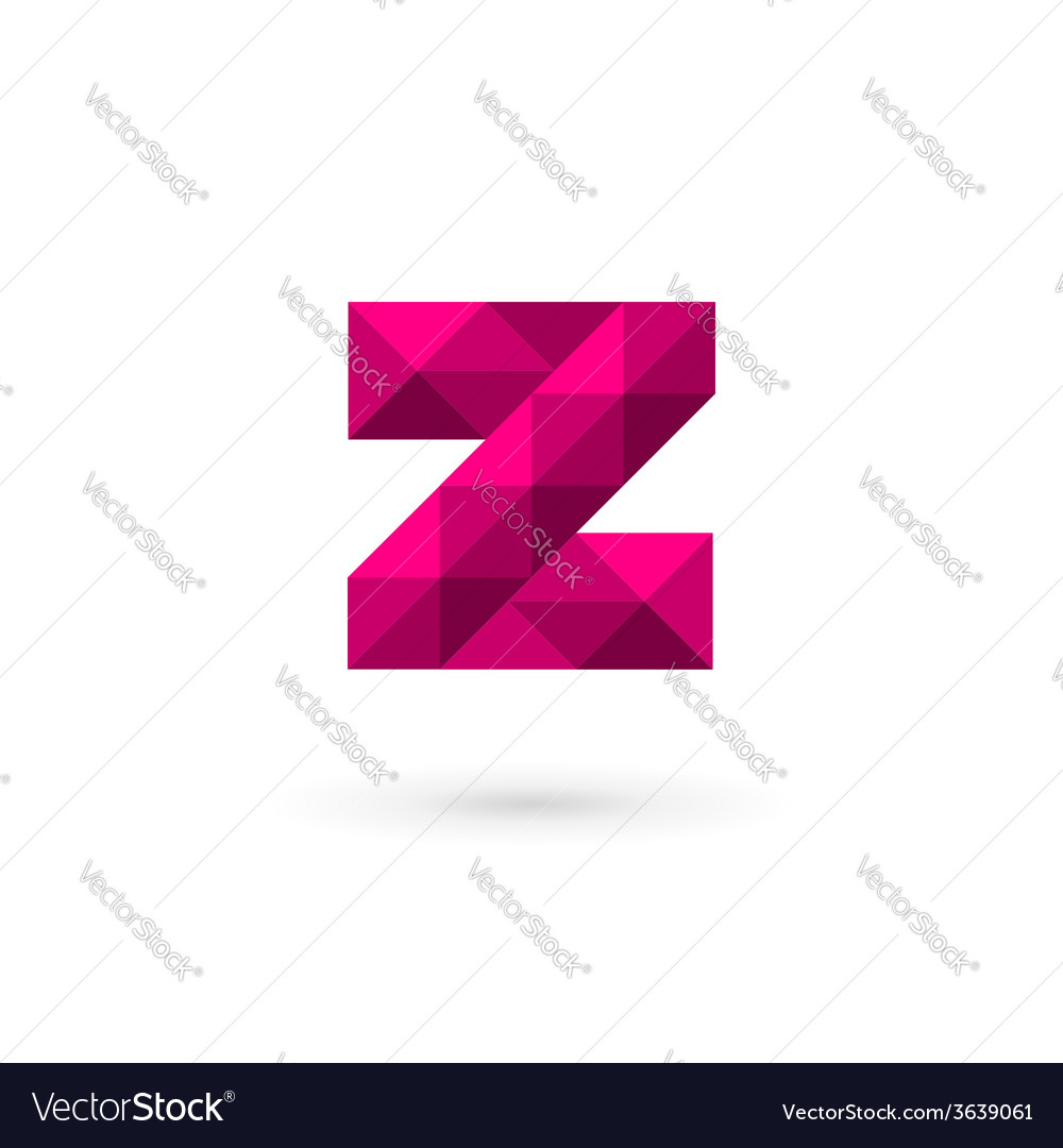 Letter z mosaic logo icon design template elements vector | Price: 1 Credit (USD $1)