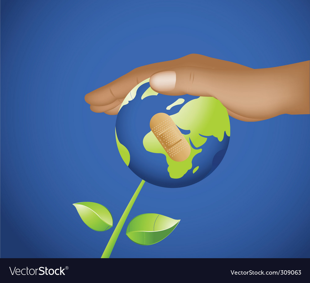 Heal the world vector | Price: 1 Credit (USD $1)