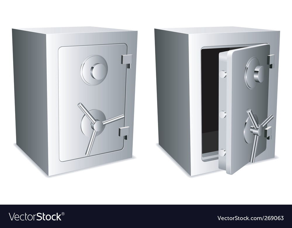 Safes vector | Price: 1 Credit (USD $1)