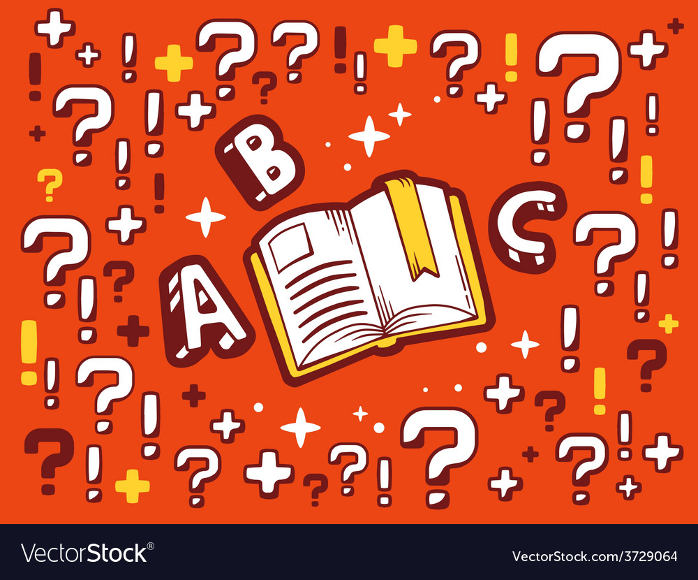 Many questions and exclamation marks arou vector | Price: 1 Credit (USD $1)