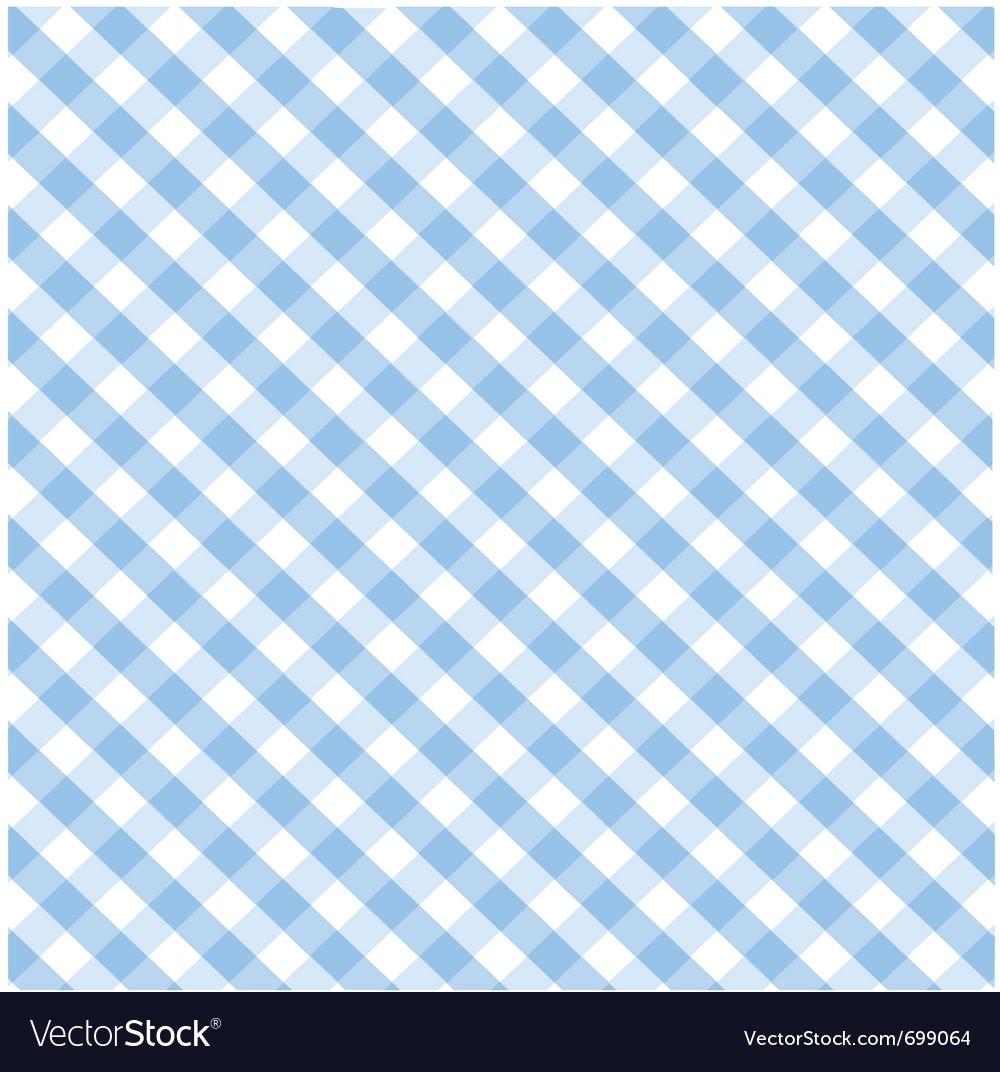 Seamless blue plaid pattern vector | Price: 1 Credit (USD $1)