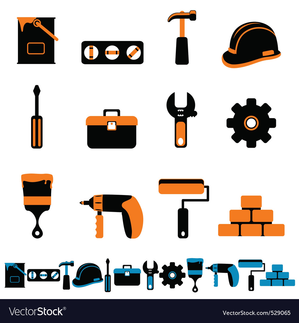 Collection of tool vector | Price: 1 Credit (USD $1)