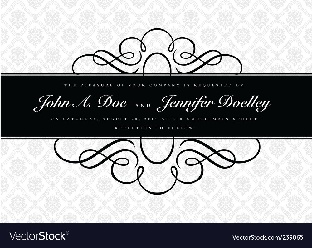 Middle border and pattern vector | Price: 1 Credit (USD $1)