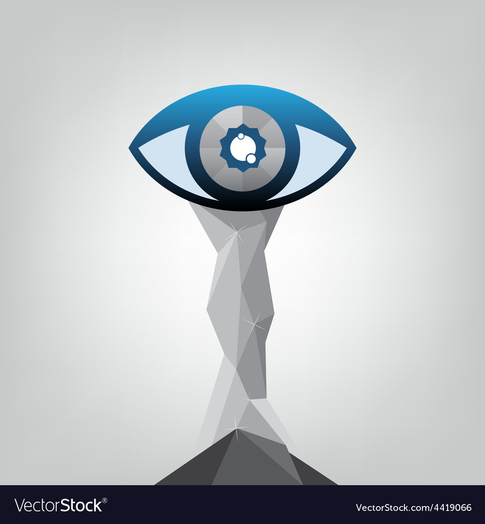 Abstract eye trophy design vector   Price: 1 Credit (USD $1)