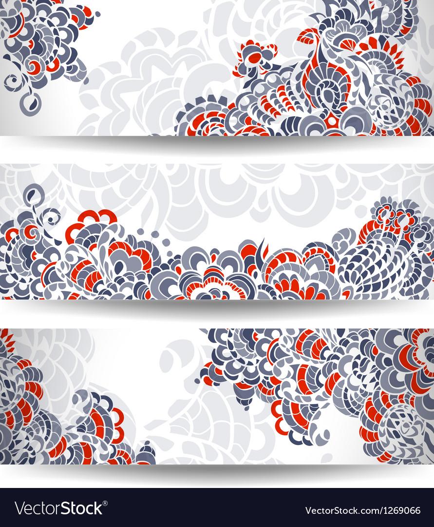 Flower background vector