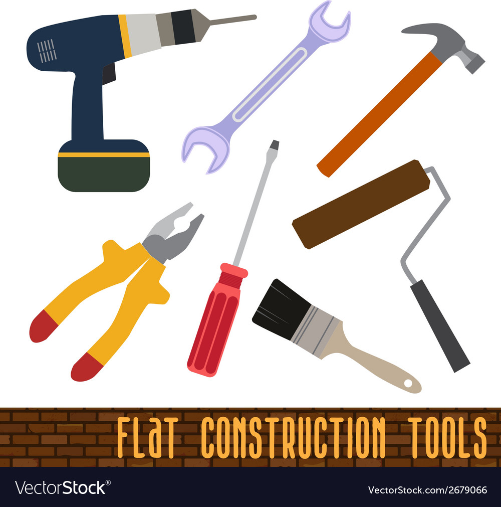 Icons set of craft tools vector | Price: 1 Credit (USD $1)