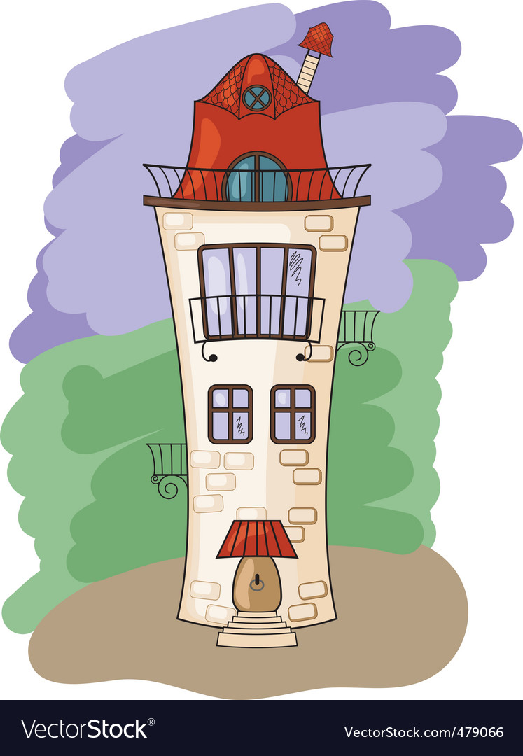 Medieval house vector | Price: 1 Credit (USD $1)