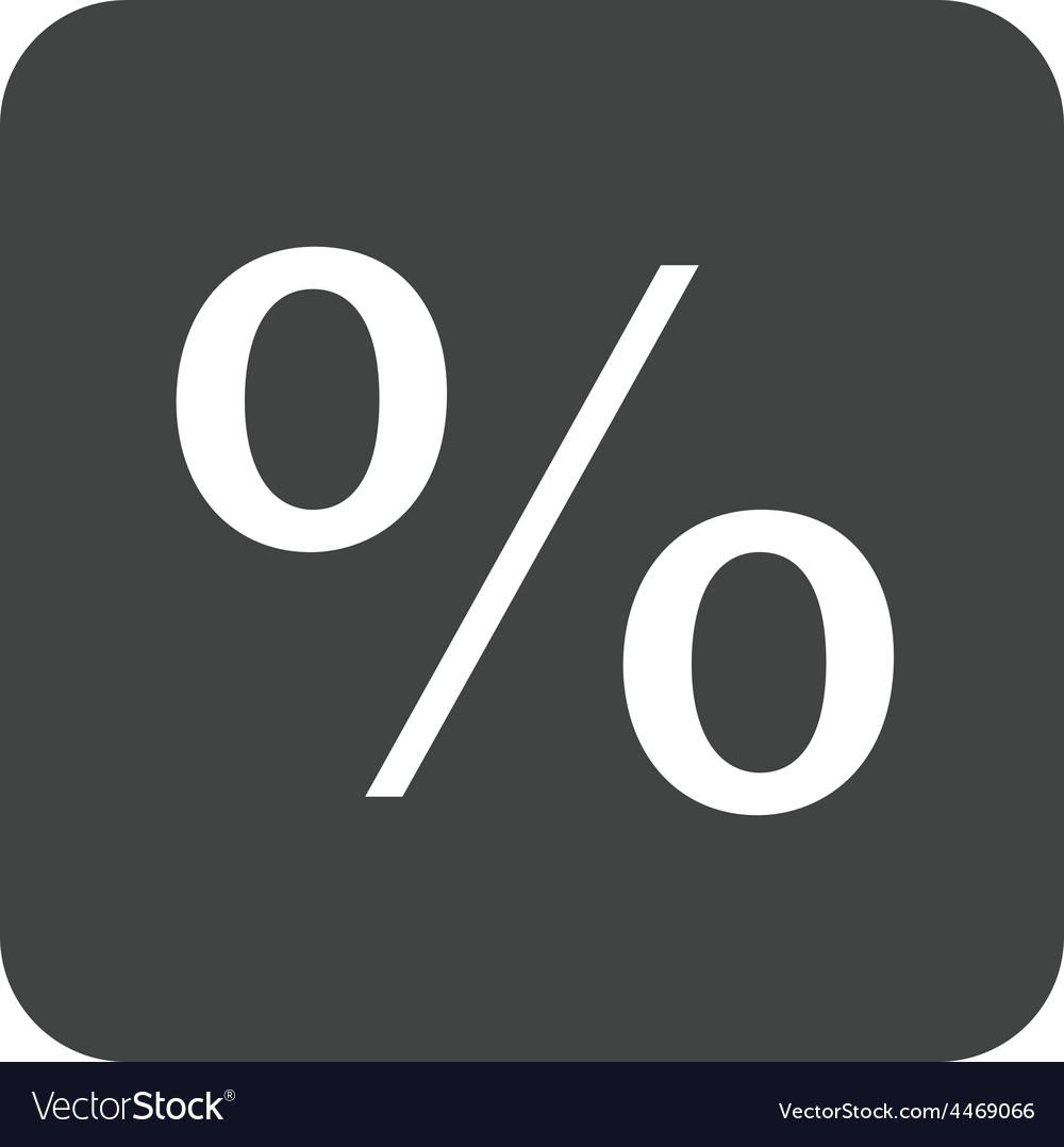 Percentage vector | Price: 1 Credit (USD $1)