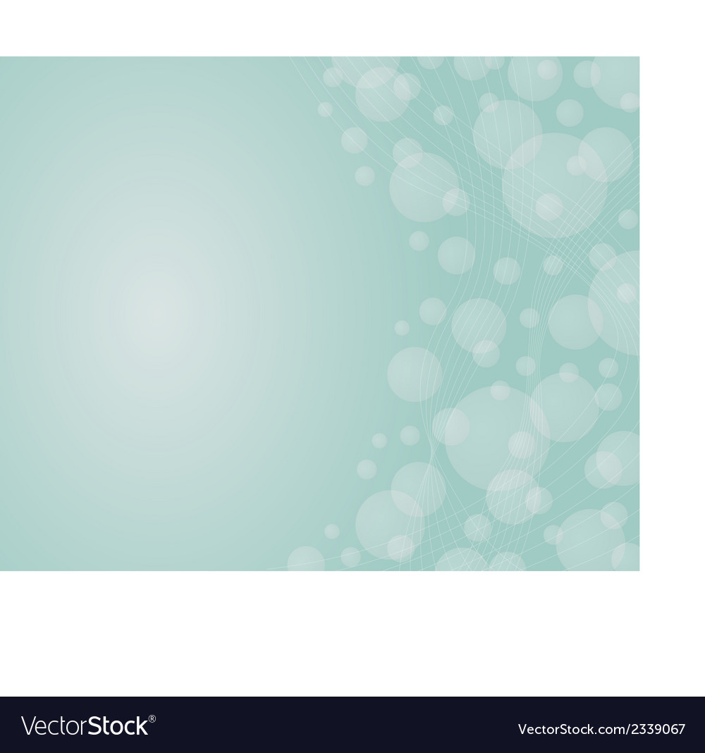 Background with the dynamic lines and bubles on vector | Price: 1 Credit (USD $1)