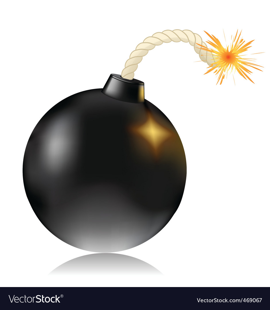 Bomb vector | Price: 1 Credit (USD $1)