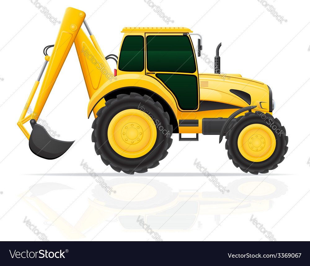Tractor 03 vector | Price: 3 Credit (USD $3)