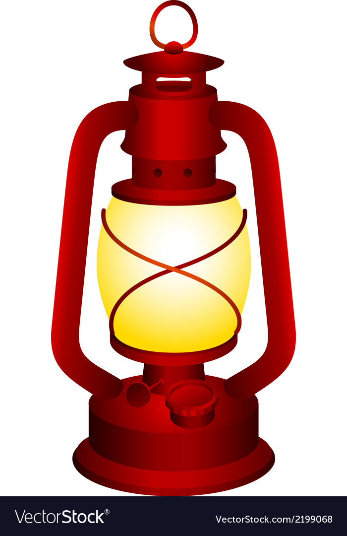 Red lantern vector | Price: 1 Credit (USD $1)