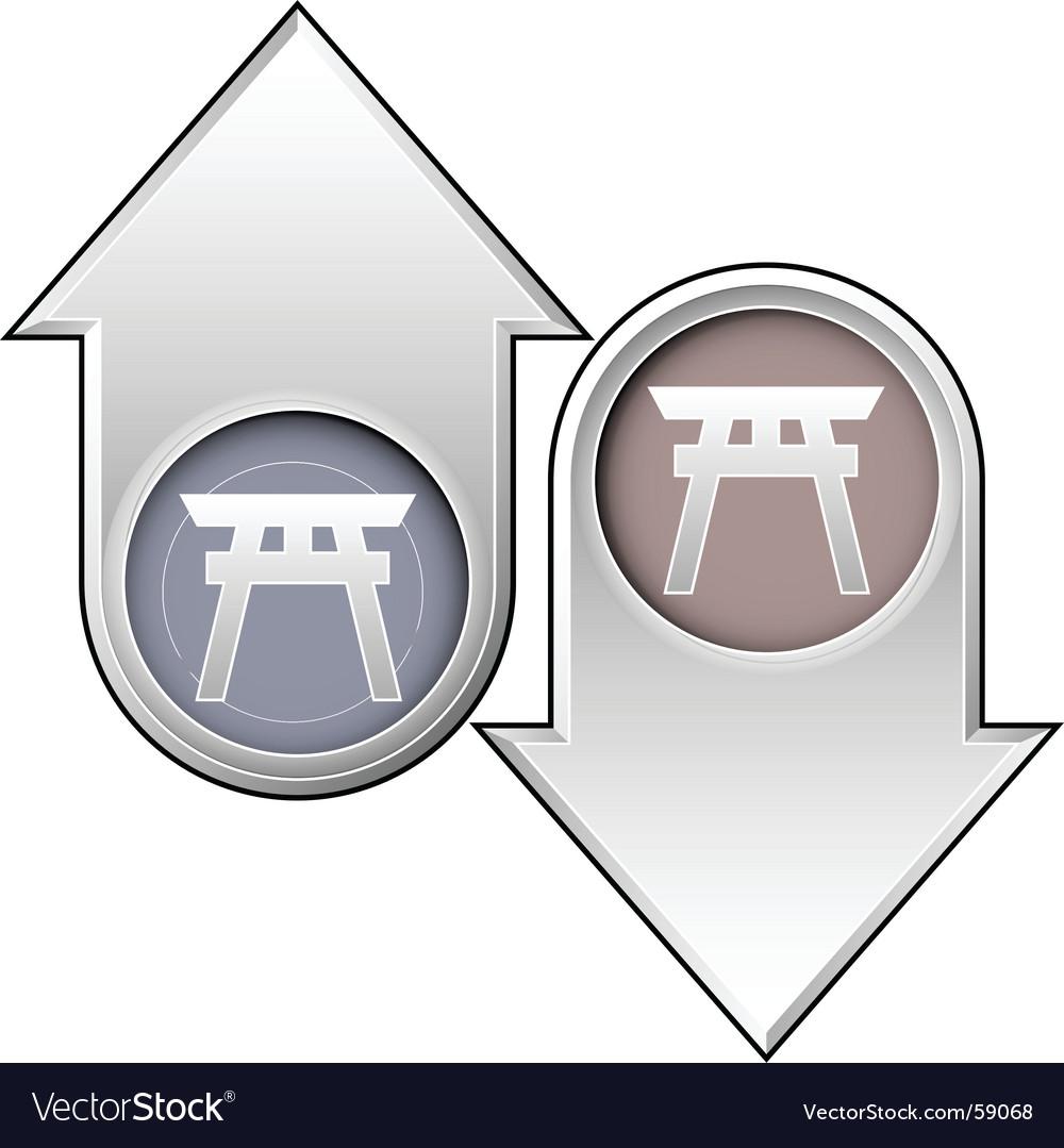 Shinto vector | Price: 1 Credit (USD $1)
