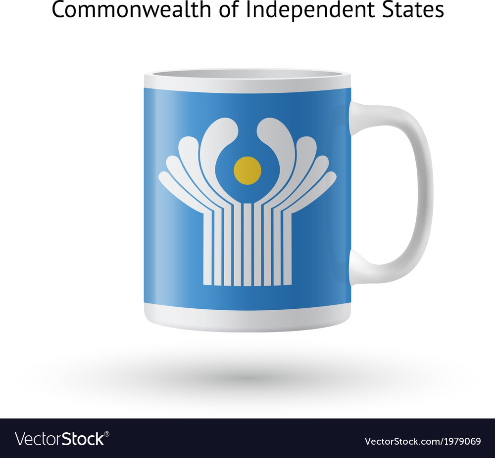 Commonwealth of independent states flag souvenir vector | Price: 1 Credit (USD $1)