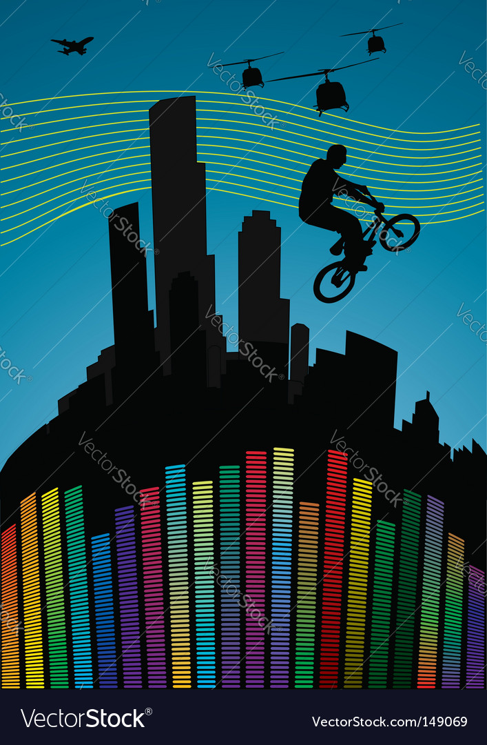 Guy on bmx vector | Price: 1 Credit (USD $1)