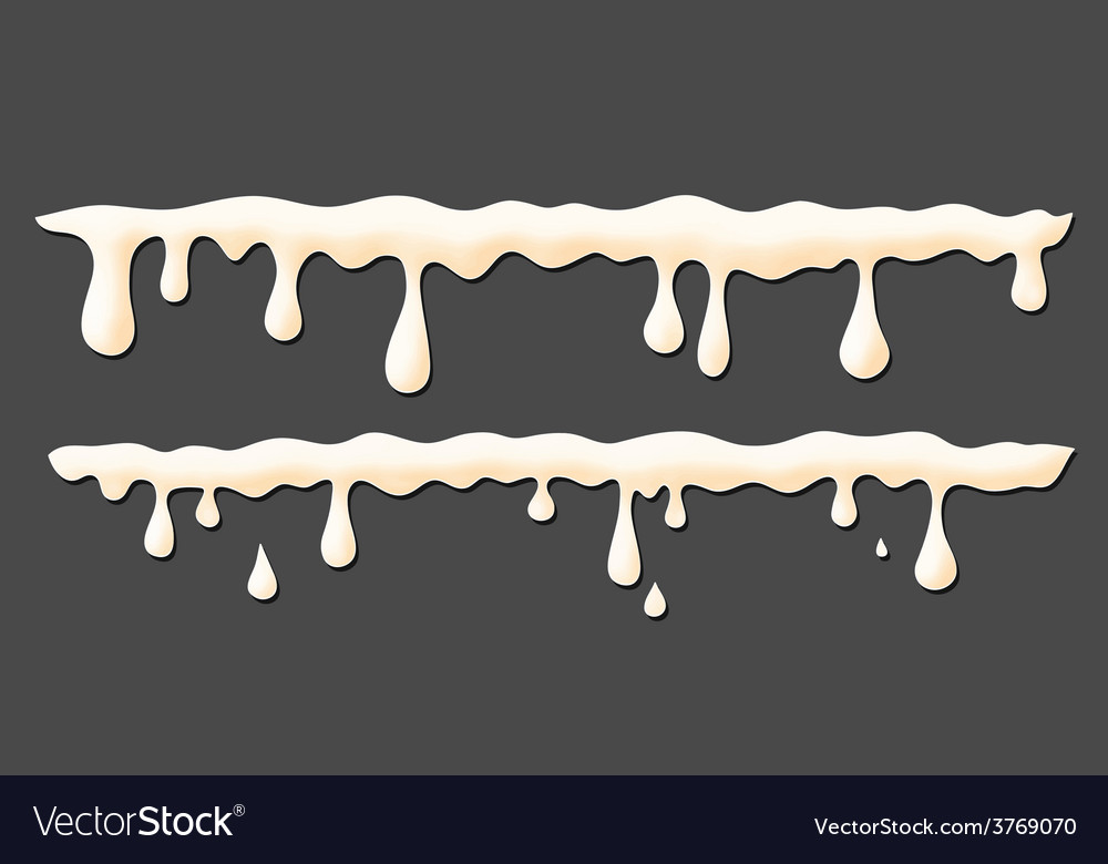 Milk smudges vector | Price: 1 Credit (USD $1)