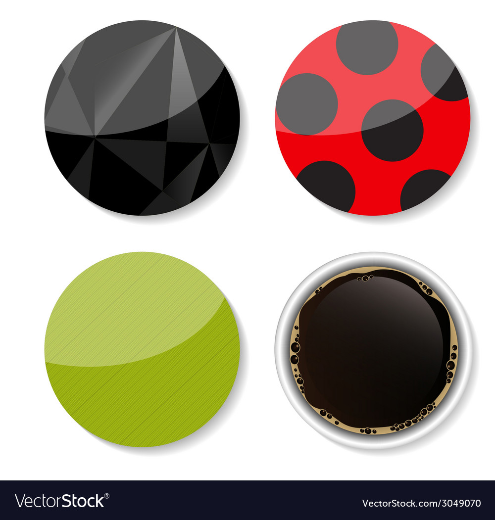Stickers set for your business vector | Price: 1 Credit (USD $1)